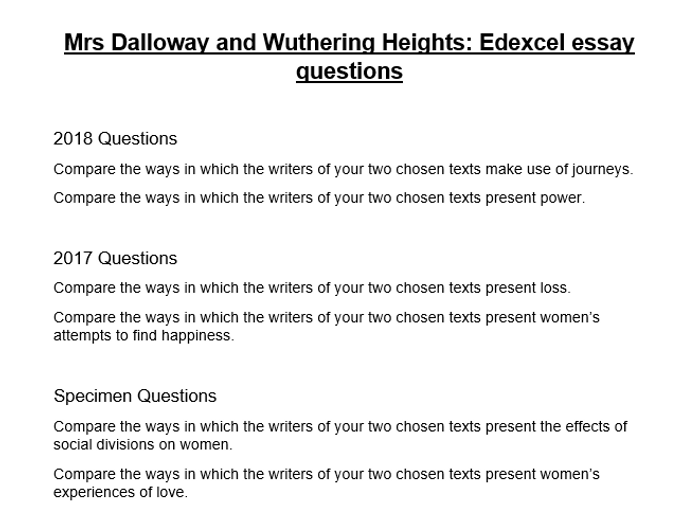 wuthering heights questions pdf
